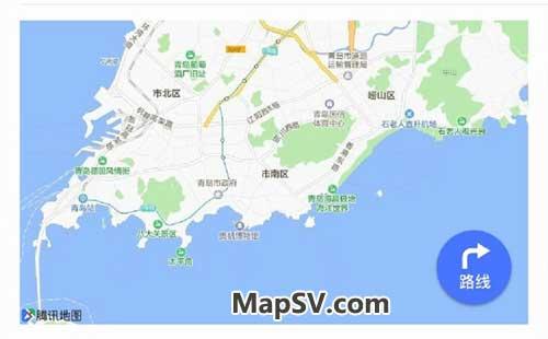微信地图标注